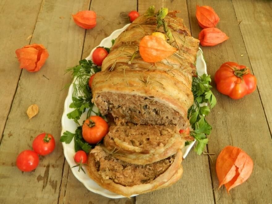 Митлоф (мясной хлеб из фарша) – пошаговый рецепт с фото.