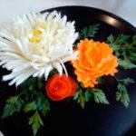 Как сделать украшение из овощей своими руками, МК №1