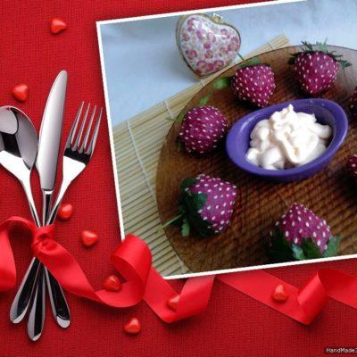 Праздничная закуска с сельдью «Клубничка» – пошаговый рецепт с фото