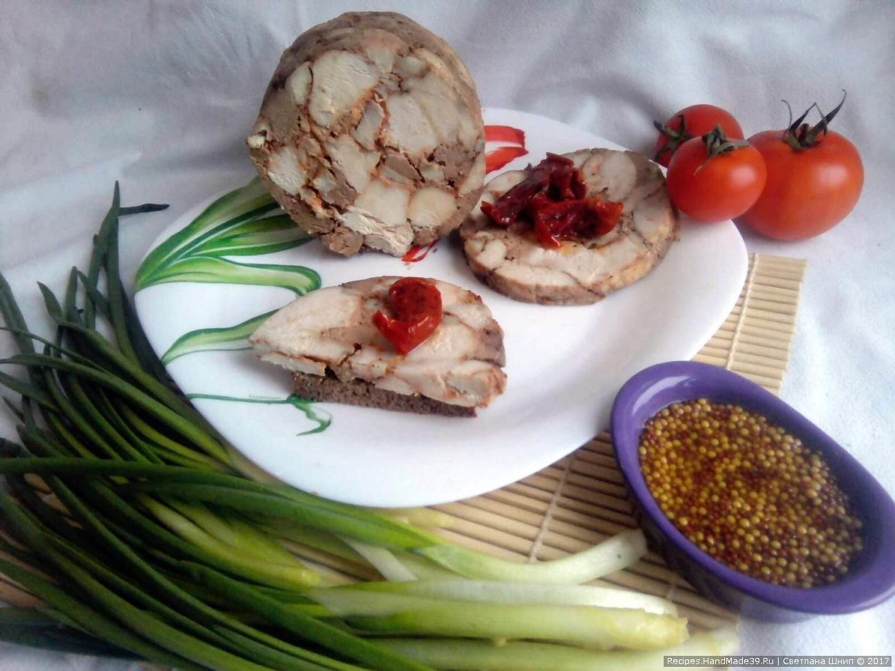 Как сделать вкусную куриную ветчину дома