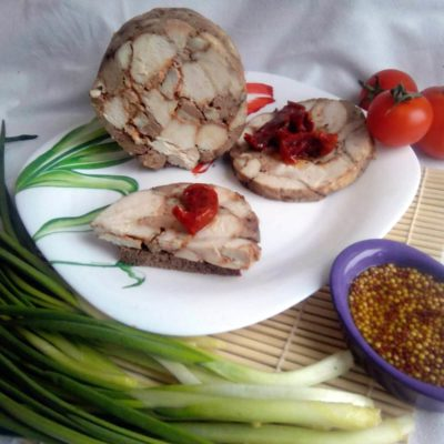 Домашняя куриная ветчина – пошаговый кулинарный рецепт с фото