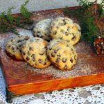 Печенье с шоколадными дропсами, орехами и морской солью