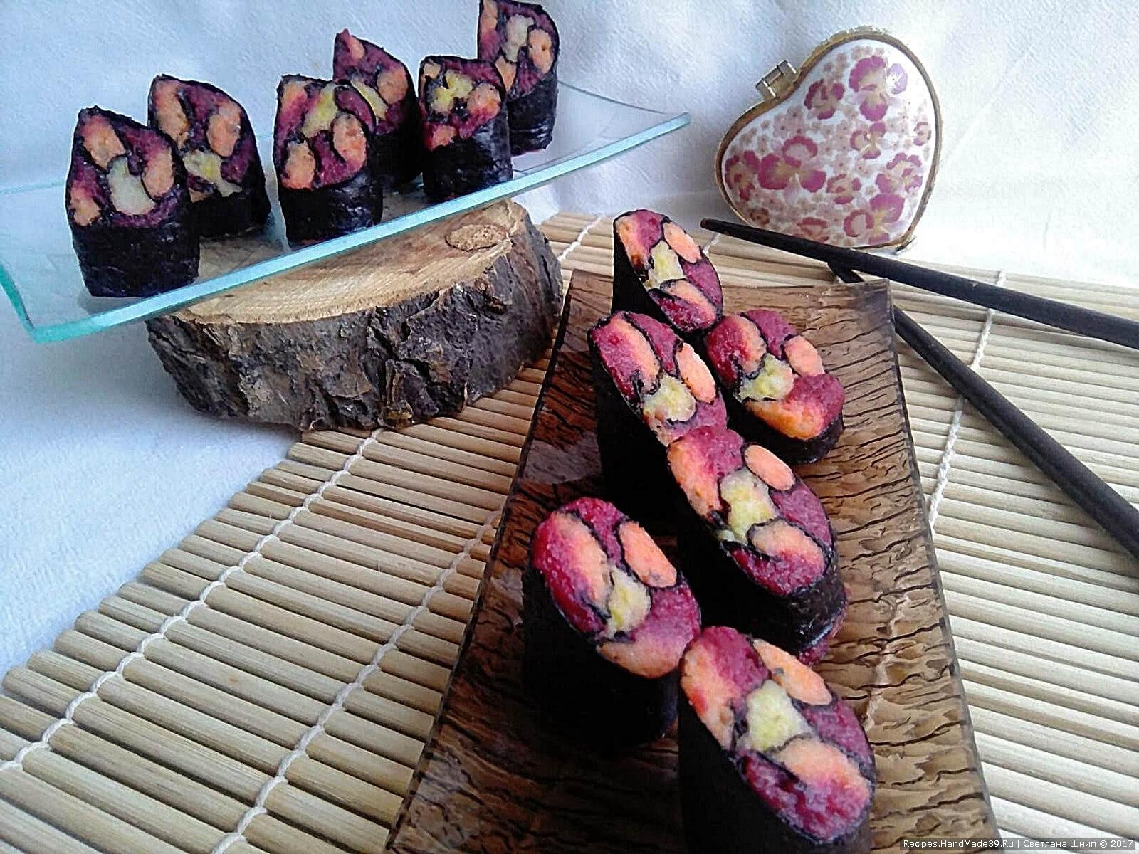Праздничная закуска с сельдью и овощами «Витражи» – пошаговый рецепт с фото. Приятного аппетита!
