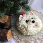 Салат с вёшенками «Собачка»