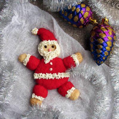 Песочное печенье «Санта-Клаус» – пошаговый кулинарный рецепт с фото