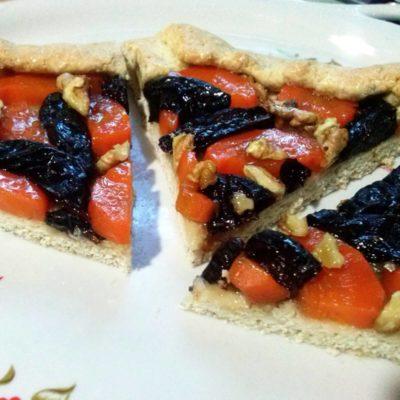 Постная галета с морковью, орехами, черносливом – пошаговый рецепт с фото