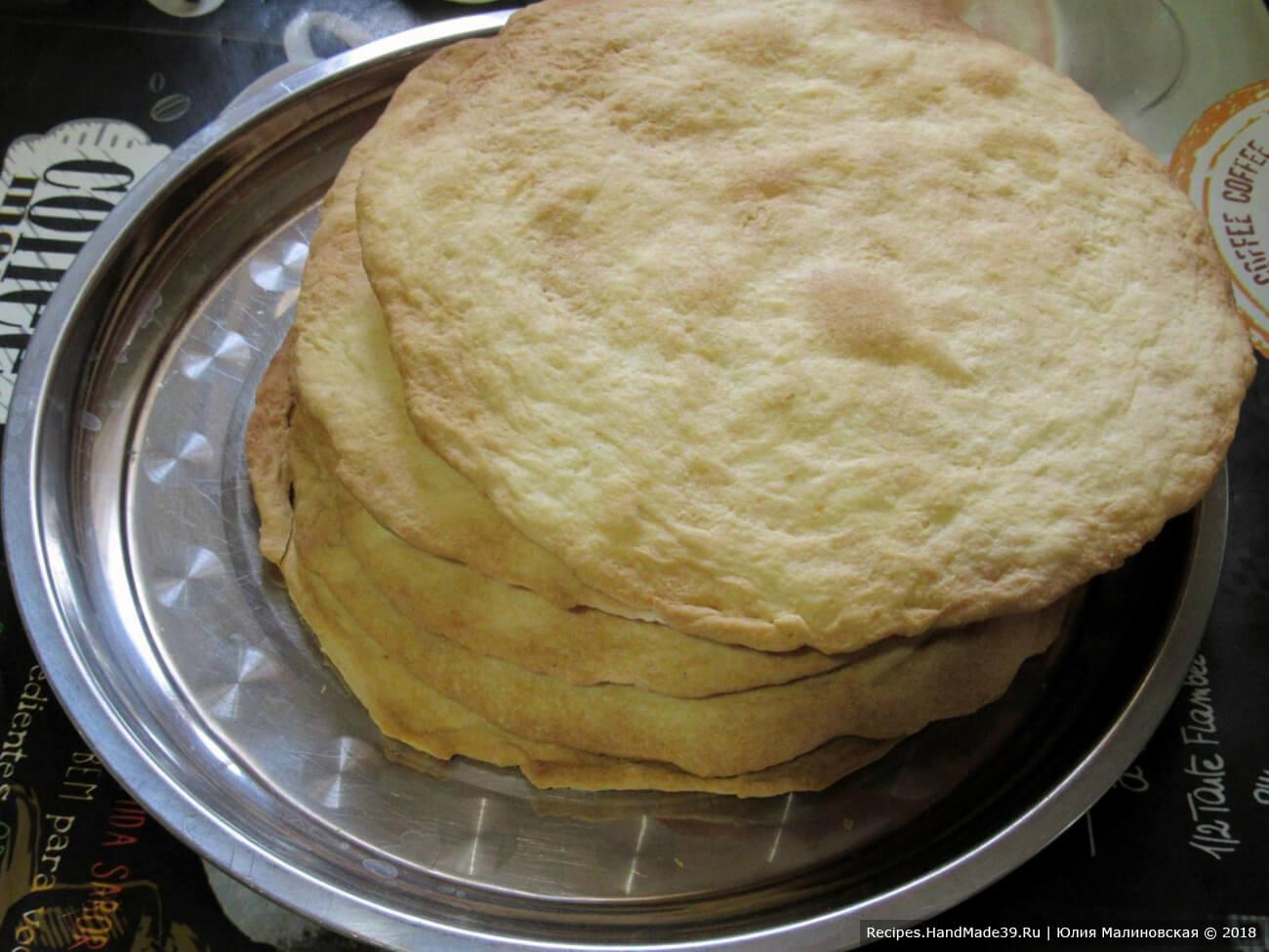 Рецепт коржей для наполеона пошагово