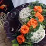 Салат с редькой и редиской
