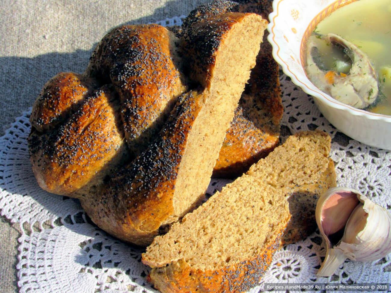 Хлеб солодовый на сухом квасе