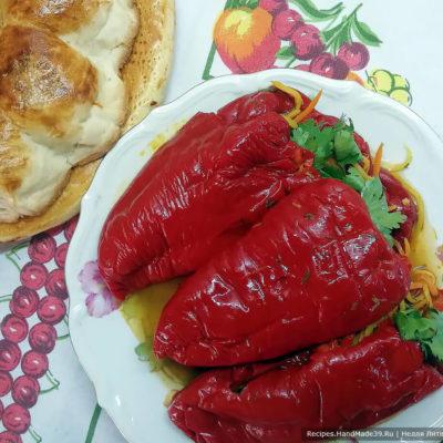 Холодный фаршированный перец с овощами – пошаговый рецепт с фото