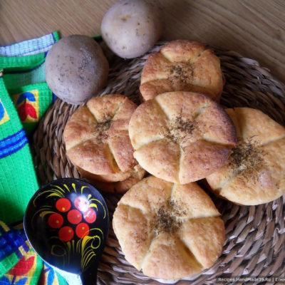 Как испечь простые вкусные картофельные булочки – пошаговый рецепт с фото