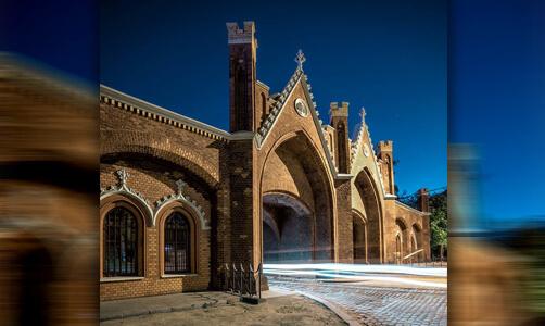 Бранденбургские ворота в Калининграде, где ныне располагается Музей марциапана