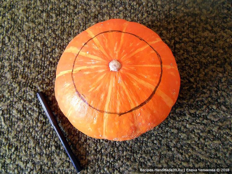 Мастер-класс «Как сделать Джек-фонарь из тыквы». Фото 2