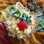 Салат с фасолью «Золото осени»
