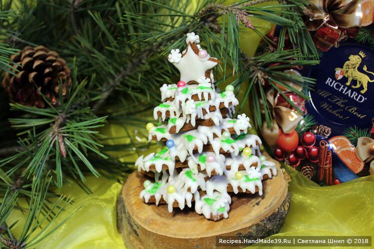 Расписные пряники-козули на Рождество – пошаговый кулинарный рецепт с фото