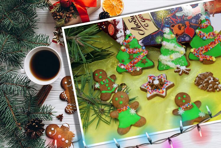 Расписные козули на Рождество – пошаговый рецепт с фото и советы по росписи пряников на Новый год