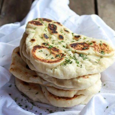 Индийские лепёшки «Наан» – пошаговый кулинарный рецепт с фото