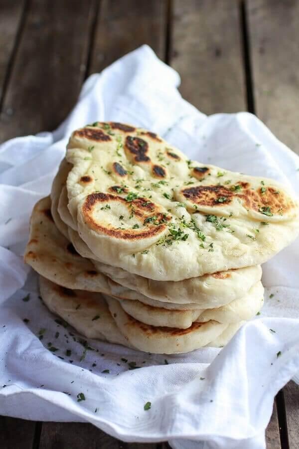 Наан – индийский хлеб