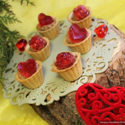 Печёночный паштет в тарталетках с желе – пошаговый рецепт с фото
