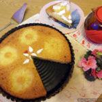 Ананасовый пирог-манник на йогурте без муки