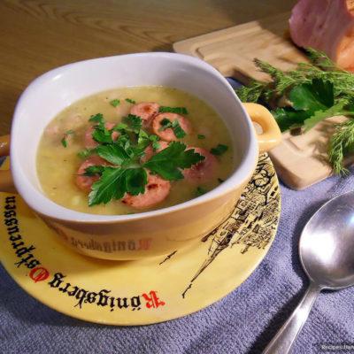 Гороховый суп «Зима на Прегеле» – пошаговый кулинарный рецепт с фото