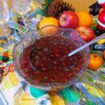 Красный ягодный крюшон