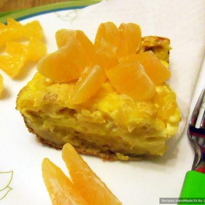 Мандариновое суфле с печеньем – пошаговый кулинарный рецепт с фото