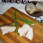 Вкусное сало, варённое в маринаде