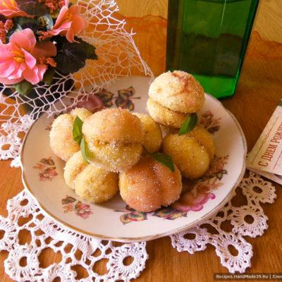 Пирожные «Персики» – пошаговый кулинарный рецепт с фото