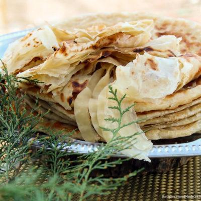 Катлама – жареные слоёные узбекские лепёшки