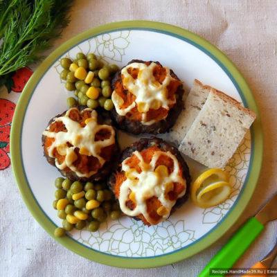 Мясные гнёзда с овощами – пошаговый кулинарный рецепт с фото