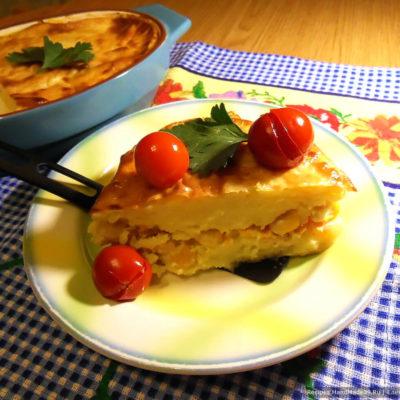 Картофельная запеканка с кукурузой – пошаговый кулинарный рецепт с фото