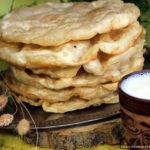 Казахские лепёшки шельпек