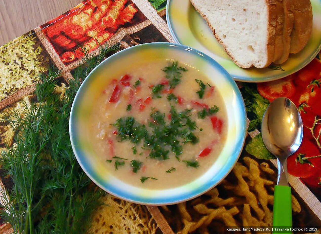 Крестьянский суп «Затируха»