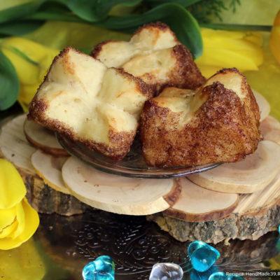 Пышные булочки «Тюльпаны» в карамели