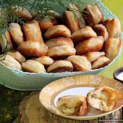 Вкусные жареные пирожки с картошкой и грибами
