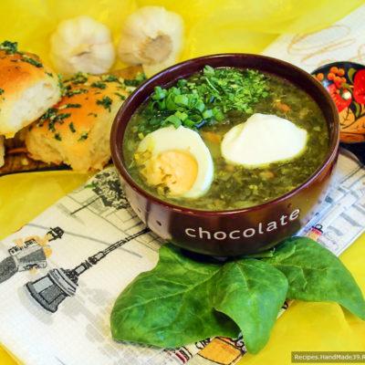 Рецепт щавелевого супа – традиционного русского первого блюда
