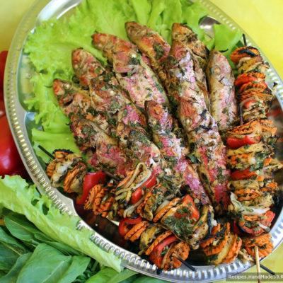 Рыба на сковороде-гриль – пошаговый кулинарный рецепт с фото