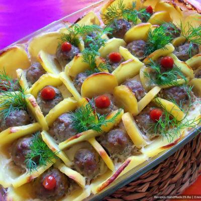 Фрикадельки в сотах – пошаговый кулинарный рецепт с фото