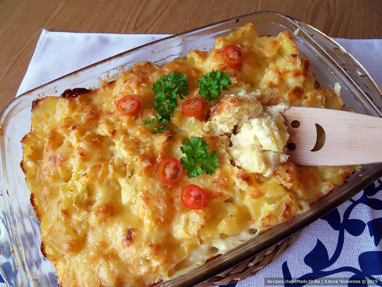 Запекать 30 минут в духовке, разогретой до температуры 180 °C, и наш картофель по-итальянски готов, приятного аппетита!