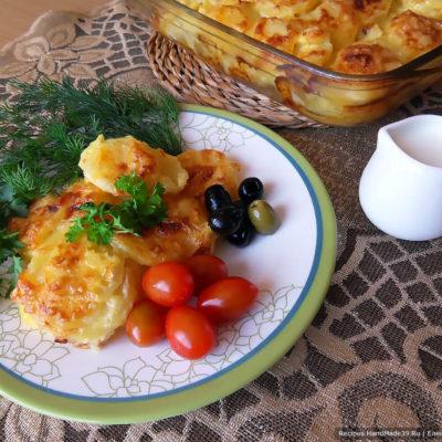 Картофель по-итальянски – пошаговый кулинарный рецепт с фото