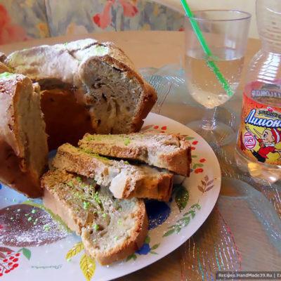 Воздушный кекс на лимонаде – пошаговый кулинарный рецепт с фото