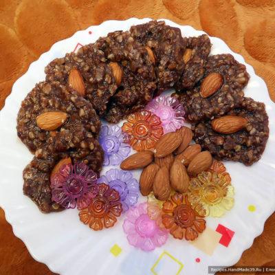 Шоколадные конфеты из овсянки с орехами и какао – пошаговый рецепт с фото