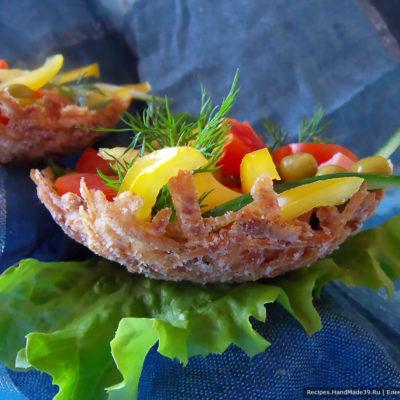 Картофельные корзиночки – пошаговый кулинарный рецепт с фото