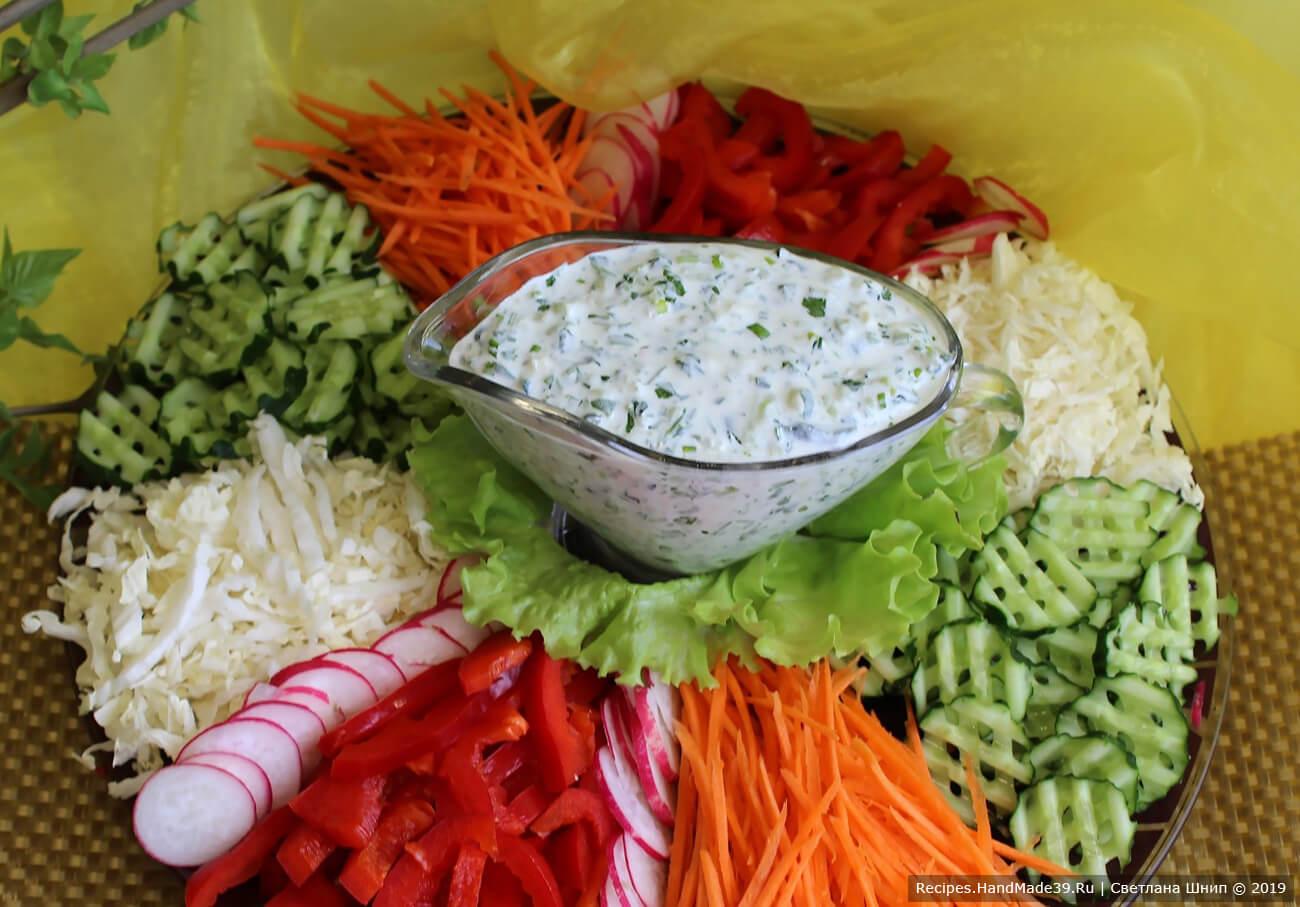 Греческий соус дзадзики подавать к овощам, мясным и рыбным блюдам, приятного аппетита!