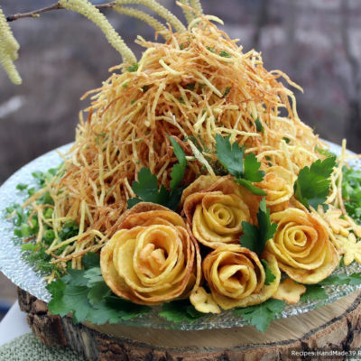 Салат «Муравейник» с курицей – пошаговый кулинарный рецепт с фото