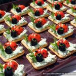 Фуршет: простые холодные закуски