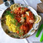 Плакия – курица в овощном маринаде, запечённая в духовке