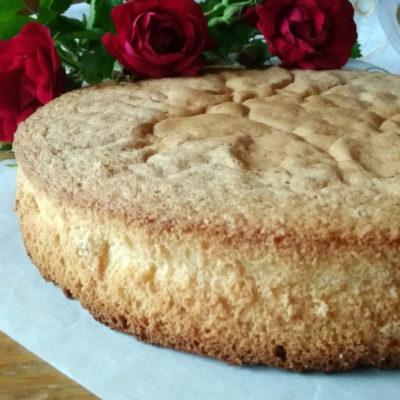 Польский «брошенный» бисквит – пошаговый кулинарный рецепт с фото