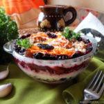 Салат «Здоровье» с грецкими орехами и сыром